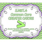 Common Core Greater Gators Activities 2.NBT.4