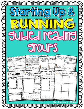 Common Core Guided Reading Sheets and Center for 1st-3rd