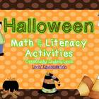 Common Core Halloween Math and Literacy Unit