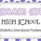 Common Core High School Statistics Standards Posters {Polk