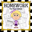 Common Core Homework for First Grade