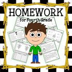 Common Core Homework for Fourth Grade