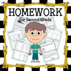 Common Core Homework for Second Grade