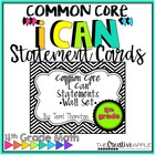 "Common Core ""I Can"" Statements Wall Set: 4th Grade"