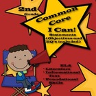 Common Core I Can Statements for ELA Reading (2nd Grade)