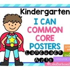 Common Core I Can posters in English- What&#039;s YOUR super power?