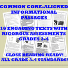 Common Core Informational Text Collection: Grade 3-4