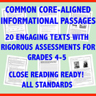 Common Core Informational Text Collection: Grade 4-5