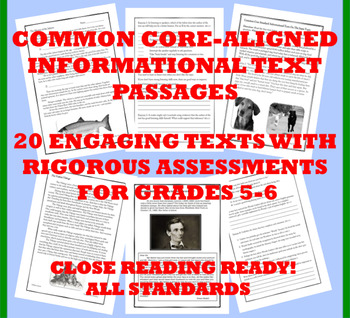 Common Core Informational Text Collection: Grade 5-6