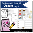 Common Core Informational Writing * { first grade } *