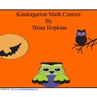 Common Core Kindergarten Halloween Math Centers and Worksheets