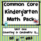 Common Core Kindergarten Math: Counting and Cardinality is