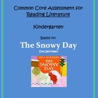 Common Core Kindergarten Reading Literature Assessment - T