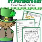 Common Core Kindergarten St. Patrick's Day Unit