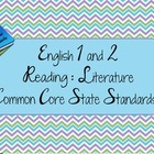Reading Literature 9-10 Common Core State Standards /Powerpoint