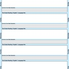 Common Core Lesson Plan Template 1st-Math with 3 drop-down