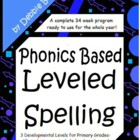 Common Core Leveled Spelling Program