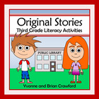 Common Core Literacy - Original Stories and Activities (3r