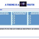 Common Core Literary Theme Graphic Organizer