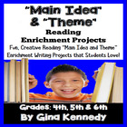Common Core Main Idea & Theme Differentiatied Enrichment P