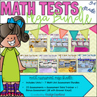 Common Core Math 3rd Grade Assessment MEGA BUNDLE: Units 1-7