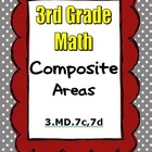 Common Core Math 3rd Grade Measurement (3.MD.7c, 3.MD.7d)