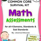 Common Core Math Assessment (Grade 1)