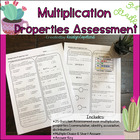 Common Core Math Assessment Grade 3 OA5 Multiplication Pro