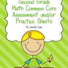 Common Core Math Assessment and/or Practice Sheets for Sec