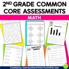 Common Core Math Assessments for 2nd Grade