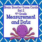 Common Core Math Brain Booster Game Cards Measurement and