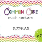 Common Core Math Centers: Multistep Word Problems {MCC4.OA.3}