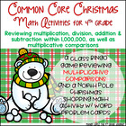 Common Core Math Christmas Pack 4.OA.1 & 4.NBT.4