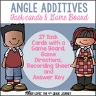 Common Core Math Decomposing Angles Review Game &amp; Assessment