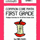 Common Core Math: First Grade