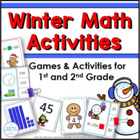 Common Core Math Games for Winter