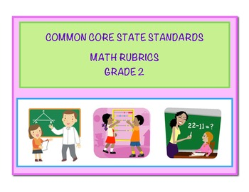 Common Core Math Grade 2 Rubrics