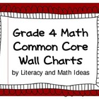 Common Core Math Grade 4 Wall Charts
