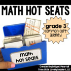 Common Core Math Hot Seats (Grade 3)