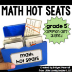 Common Core Math Hot Seats (Grade 5)
