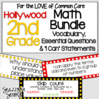 Common Core Math Jumbo Pack for 2nd Grade {Hollywood Stars}