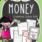 Common Core Math Lessons &amp; Worksheets {money}