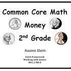 Common Core Math Money 2nd Grade Worksheets