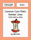 Common Core Math: Number Lines (Grade 1)