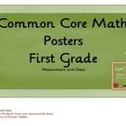 Common Core Math Posters: Measurement & Data in First Grade