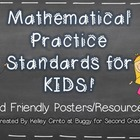 Common Core Math Practice Standards for Kids...Kid Friendl