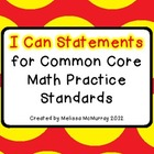 Common Core Math Practice Standards