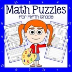 Common Core Math Puzzles - 5th Grade