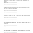 Common Core Math Skills Sheets for 2nd Grade OA skills
