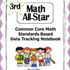 Common Core Math Standards Based Data Tracking Notebook-Grade 3